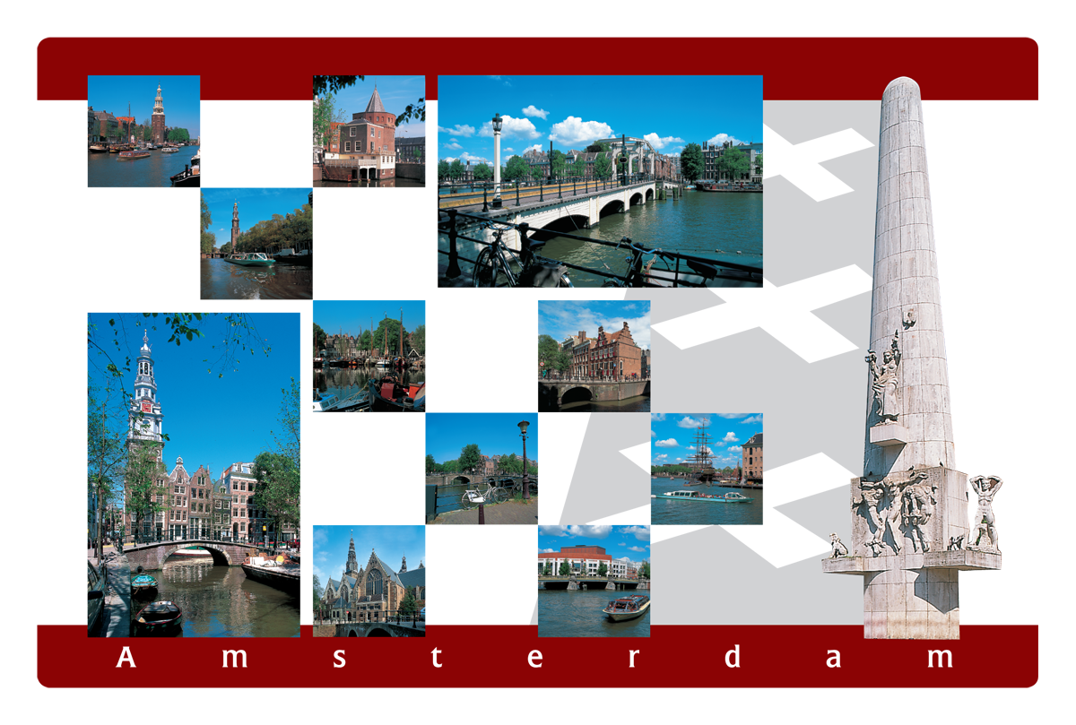 Placemat Amsterdam