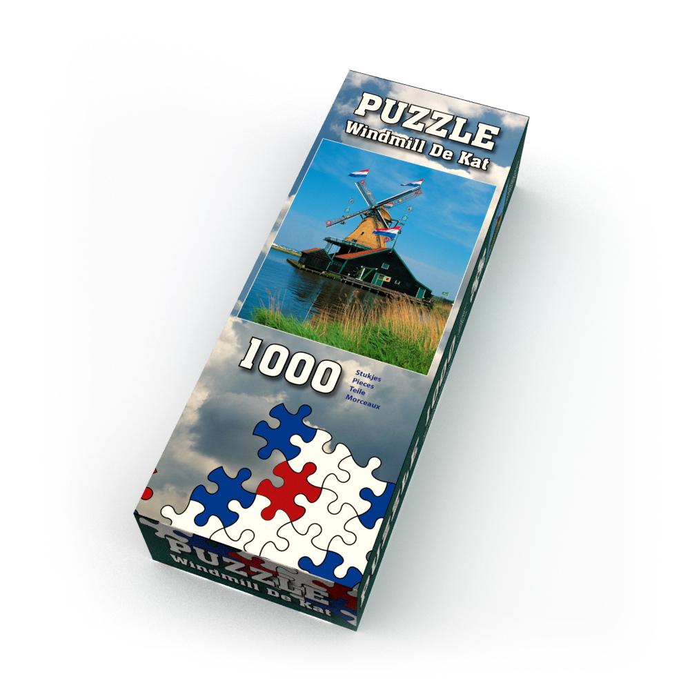 Puzzle Molen de Kat