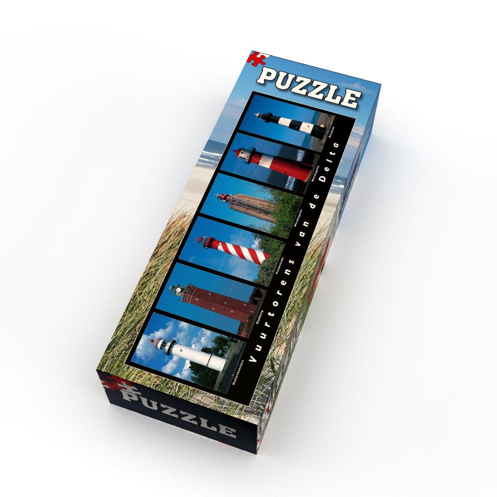 Puzzle Vuurtorens van de Delta